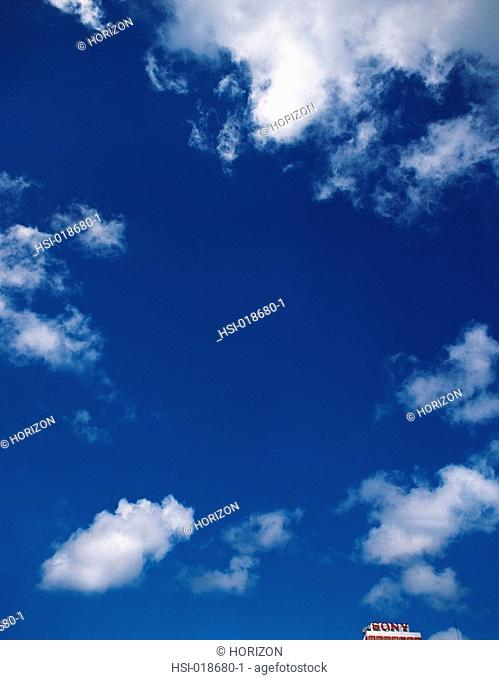 Environment & nature, Skies, Blue sky & white clouds