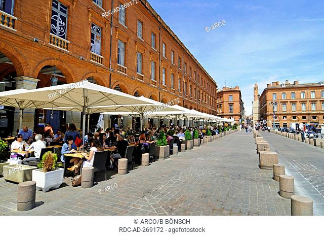 Place du Capitole, Toulouse, Department Haute-Garonne, Midi-Pyrenees, France