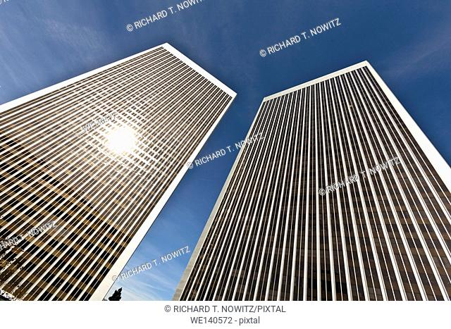 High rise Office towers in Century City, Los Angeles, California
