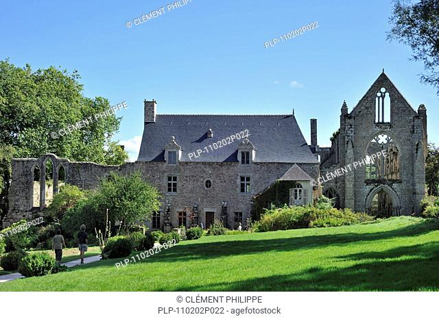The Abbey of Beauport, Kérity, Paimpol, Brittany, France