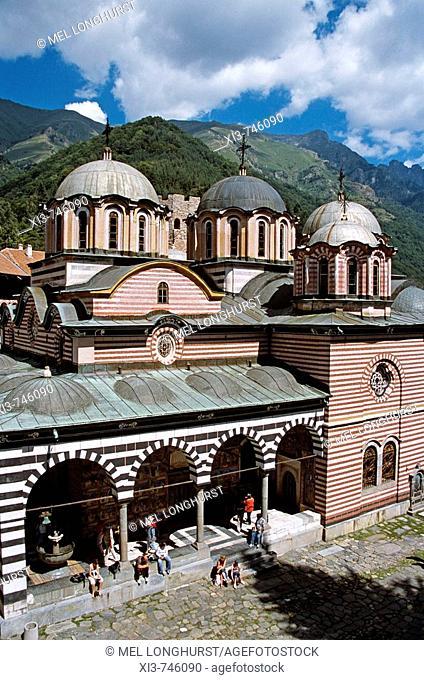 Nativity Church, Rila Monastery, Bulgaria
