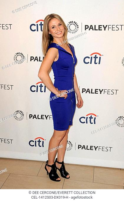 Rita Volk at arrivals for 2014 PaleyFest Fall Season Premiere: MTV's FAKING IT, The Paley Center for Media, Los Angeles, CA September 12, 2014