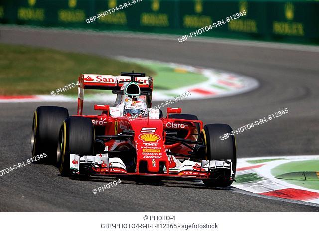 02.09.2016 - Sebastian Vettel (GER) Scuderia Ferrari SF16-H
