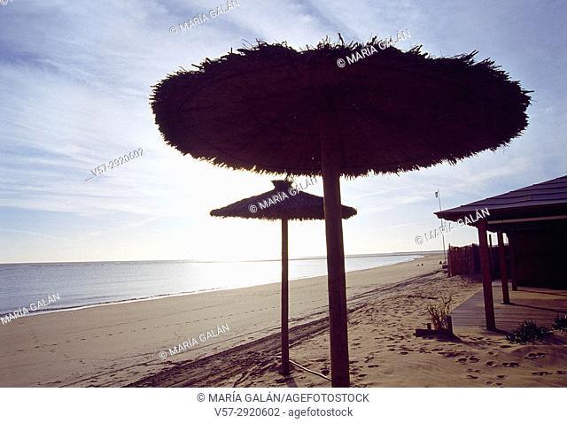 Beach. Isla Canela, Huelva province, Andalucia, Spain