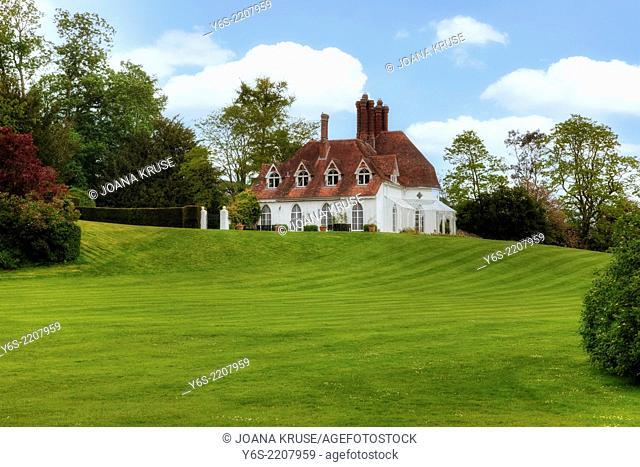 Houghton Lodge, Stockbridge, Hampshire, England, United Kingdom