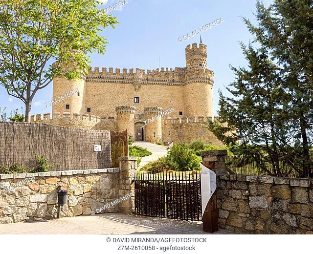 Castillo de Manzanares el Real. Madrid. España