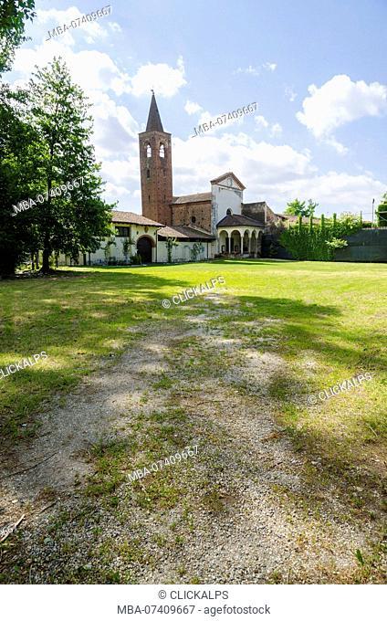 Abbey of Sant Albino, Mortara, Lomellina, Lombary, Italy