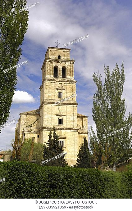 church of San Martin, Mota del Marques, Valladolid province, Spain