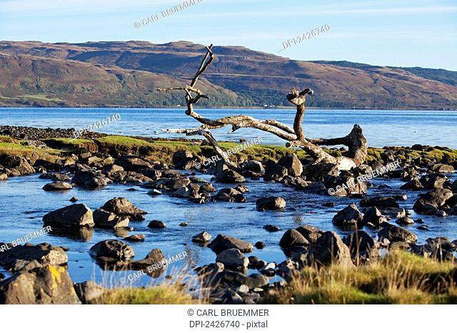 Bay at Loch nae Keal; Isle of Mull, Scotland