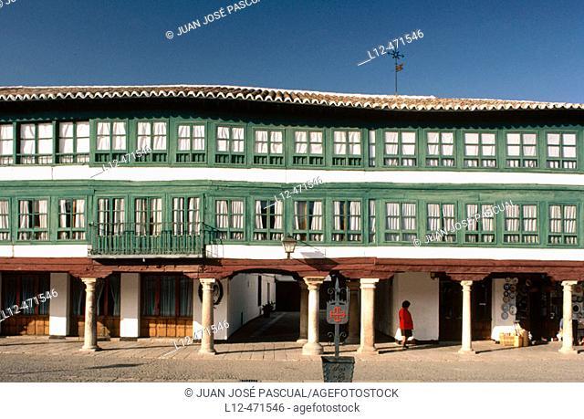 Main Square, Almagro. Ciudad Real province, Castilla-La Mancha, Spain