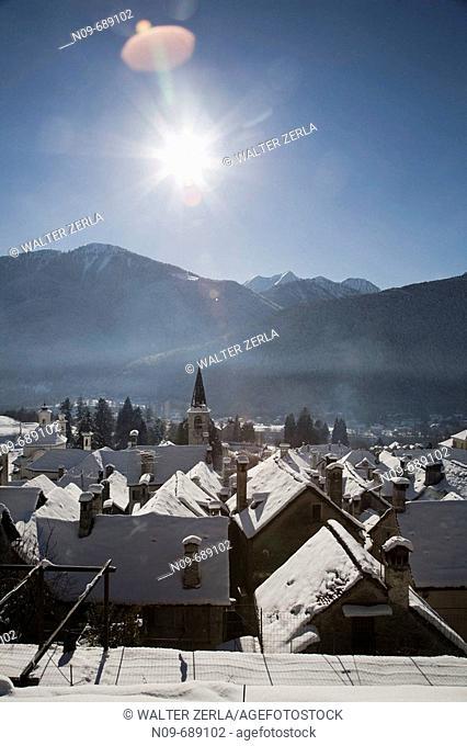 Craveggia. Val Vigezzo, Ossola, Piedmont, Italy