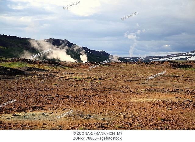 Hochtemperaturgebiet Hverarönð Námafjall Island
