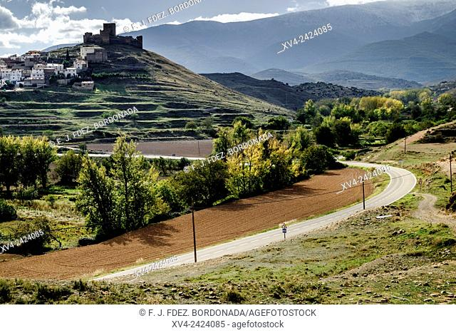 Trasmoz vllage. Hill town. Tarazona and Moncayo region, Ebro Valley, Aragon, Spain