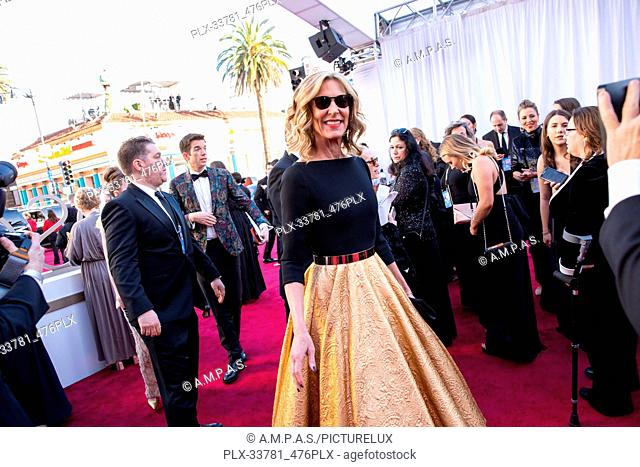 Christine Lahti arrives on the red carpet of The 91st Oscars® at the Dolby® Theatre in Hollywood, CA on Sunday, February 24, 2019