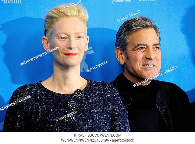 66th annual International Berlin Film Festival (Berlinale) - Hail, Caesar - Photocall at Grand Hyatt Hotel Featuring: Tilda Swinton
