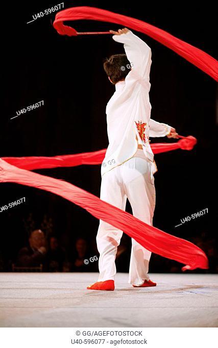 Chinese Ribbon Dancer