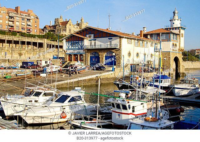 Marina. Getxo, Las Arenas. Biscay, Spain