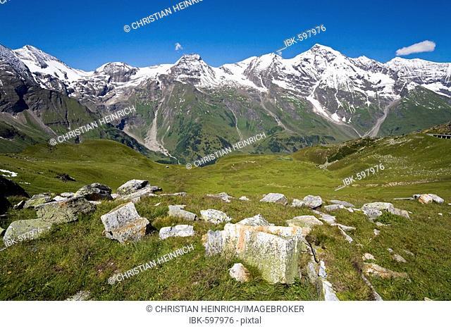 Grossglockner High Alpine Road, national park Hohe Tauern, Carinthia, Austria