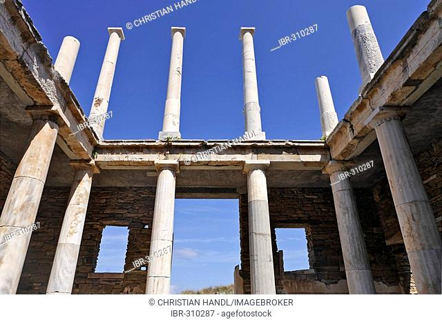 House of Hermes, Delos, Greece
