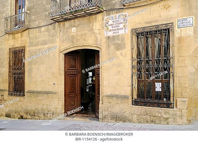 Museo Arqueológico y Etnografico Soler Blascoy, historical, archaeological and ethnographic museum, old town, Javea, Costa Blanca, Alicante, Spain, Europe