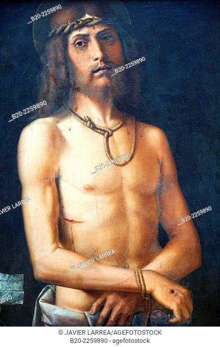 Ecce Homo. Bartolomeo Cincani, dit MONTAGNA. Louvre Museum. Paris. France