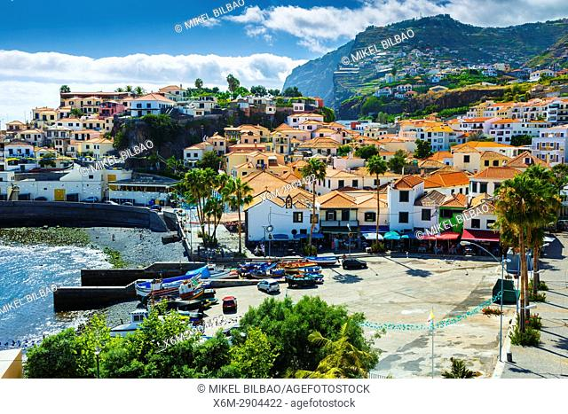 Camara de Lobos village. Madeira, Portugal, Europe