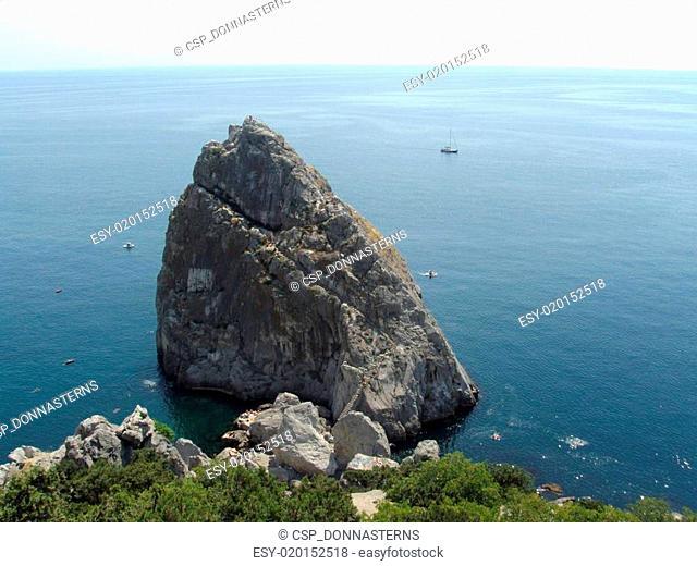 Rock Diva. Simeiz. Crimea. Black Sea