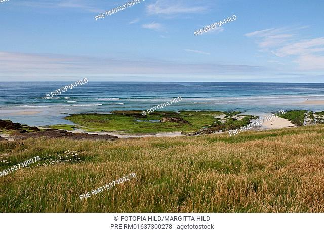 West coast, Westray, Orkney Islands, Scotland, United Kingdom / Westküste, Westray, Orkney Inseln, Schottland, Großbritannien