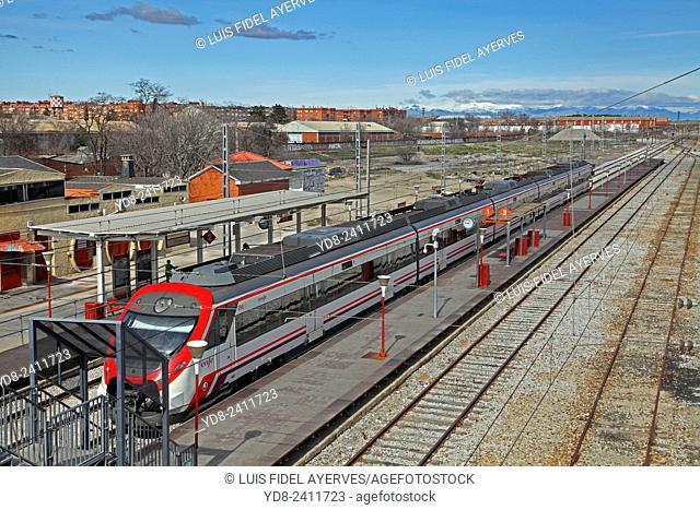 Getafe Railway Station Industrial, Madrid, Spain