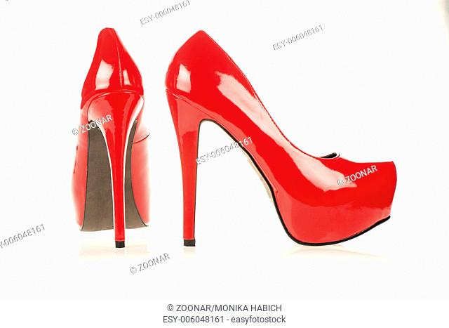 High heels shoes with inner platform