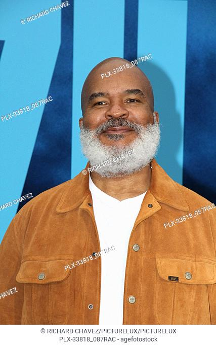 """David Alan Grier at the Warner Brothers Pictures World Premiere of """"""""Godzilla King Of The Monsters"""""""". Held at the TCL Chinese Theater in Hollywood, CA, May 18"""