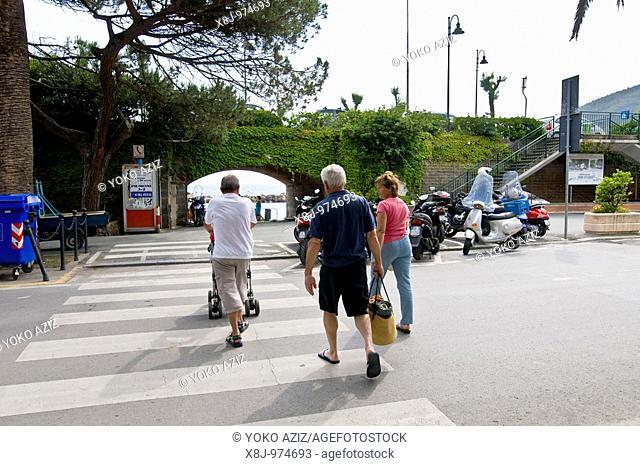 People, Moneglia Province of Genoa, Italy