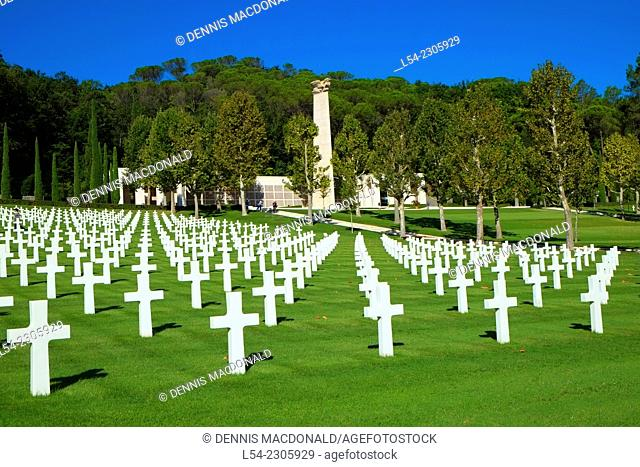 Florence American Cemetery Italy World War II WWII
