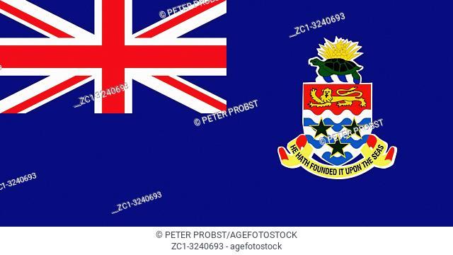Flag of the British overseas territory Cayman Islands