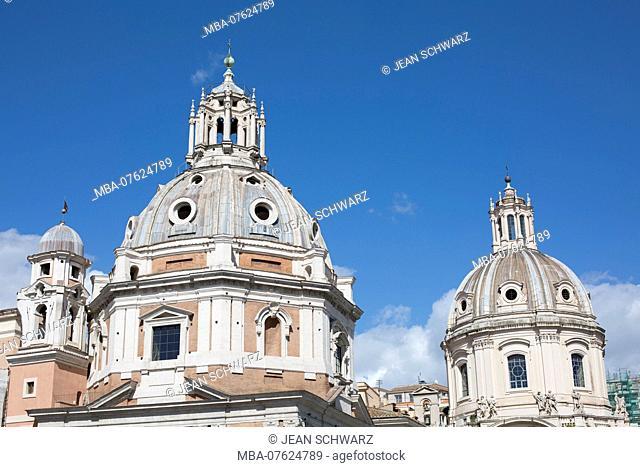 Italy, Rome, Santissimo Nome di Maria al Foro Traiano