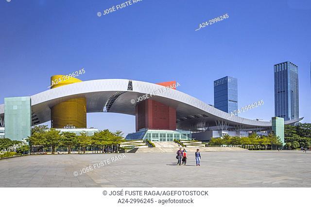 China, Shenzhen City, Shenzhen Center, Civic Center Bldg. , Futian district
