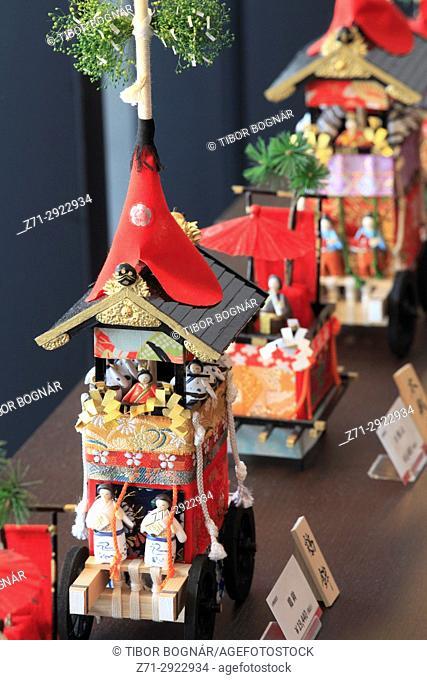 Japan, Kyoto, Gion Matsuri, festival, float models,