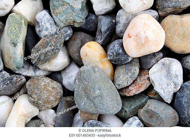 Background with stones