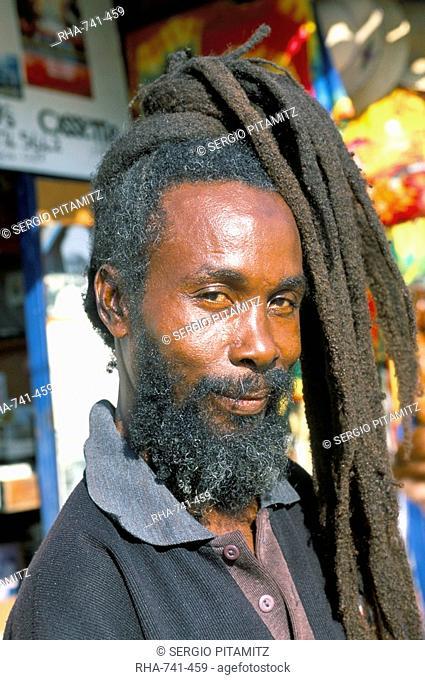 Rasta Man Ocho Rios Jamaica West Indies Central America
