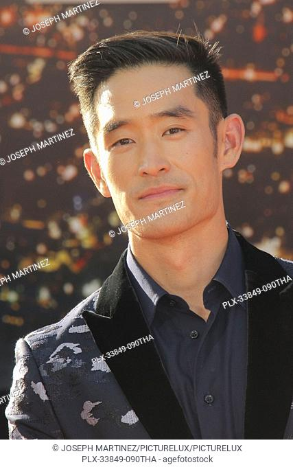 """Mike Moh at Sony Pictures' """"""""Once Upon a Time...in Hollywood"""""""" World Premiere held at the TCL Chinese Theatre, Los Angeles, USA, July 22, 2019"""