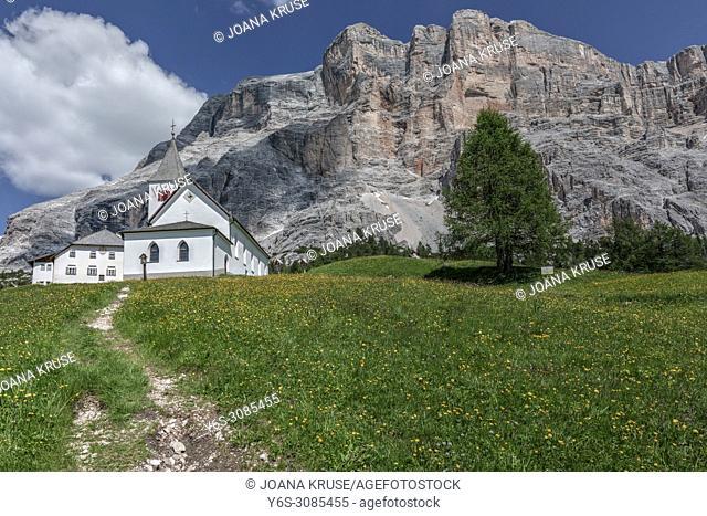 Sasso di Santa Croce, Badia, South Tyrol, Dolomites, Italy, Europe