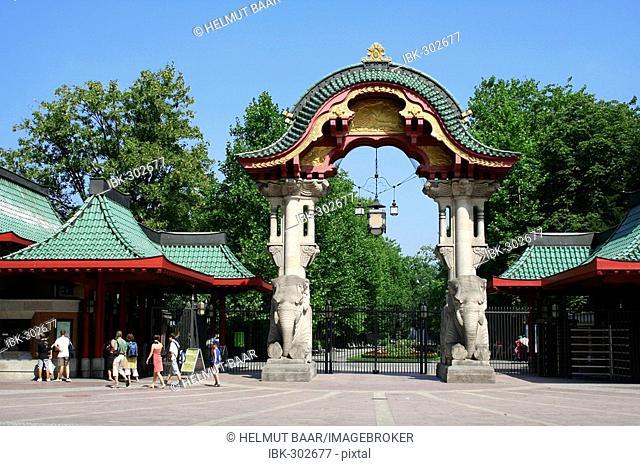 Zoo Berlin, entrance, Berlin, Germany