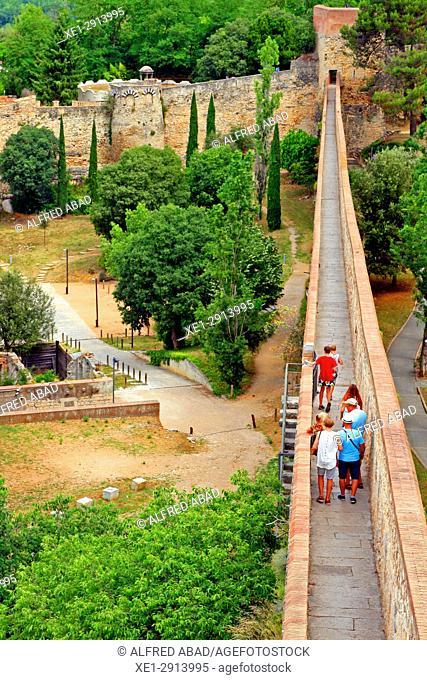 Rampart, Girona, Catalonia, Spain