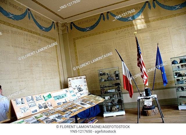 France, Champagne-Ardenne, Marne 51, Somme-Py - Franco-american Museum of the First Worl War