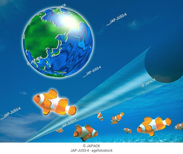 Earth and fish