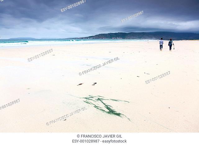Beach of Carnota, Galicia, Spain