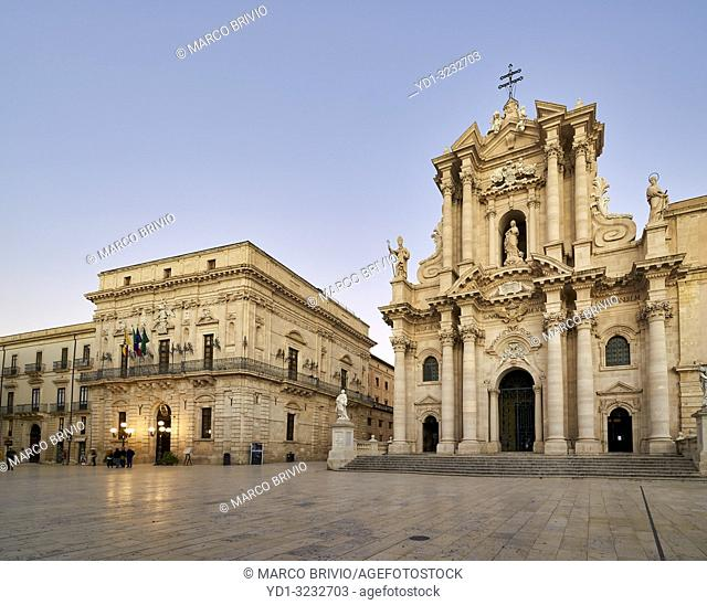 The Cathedral of Syracuse (Duomo di Siracusa), formally the Cattedrale metropolitana della Nativita di Maria Santissima, is an ancient Catholic church in...