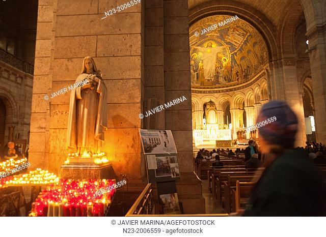 Sacre Coeur Basilica, Paris, France