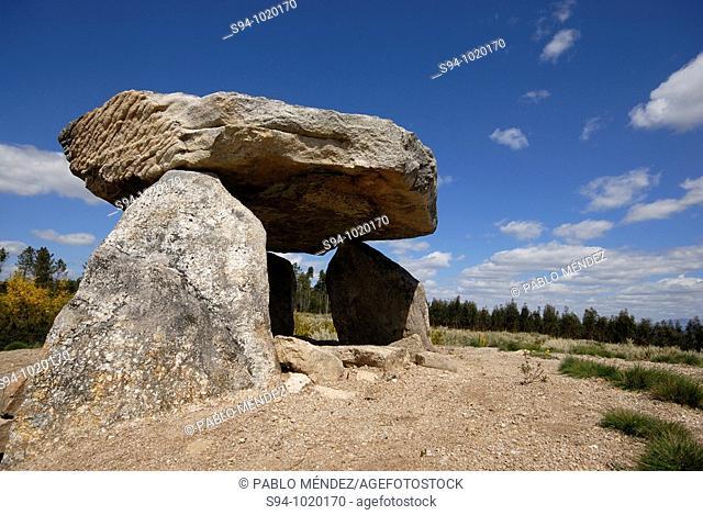 Dolmen of Ameal II in Fiais, Portugal