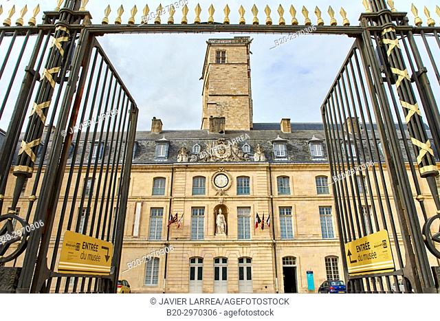 Tour Phillippe Le Bon, Palais des Ducs et des Etats de Bourgogne, Place de la Liberation, Dijon, Côte d'Or, Burgundy Region, Bourgogne, France, Europe